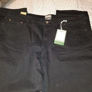 Bnwt Levi's black sz 24 straight leg Jean's